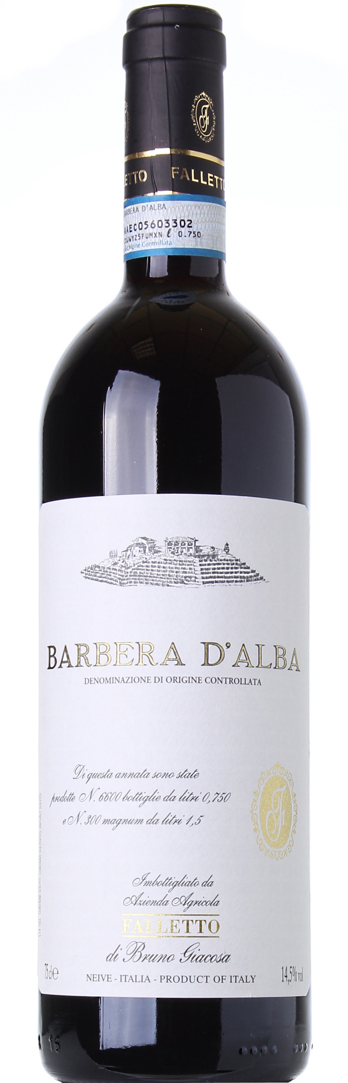 BRUNO GIACOSA BARBERA D'ALBA FALLETTO 2012