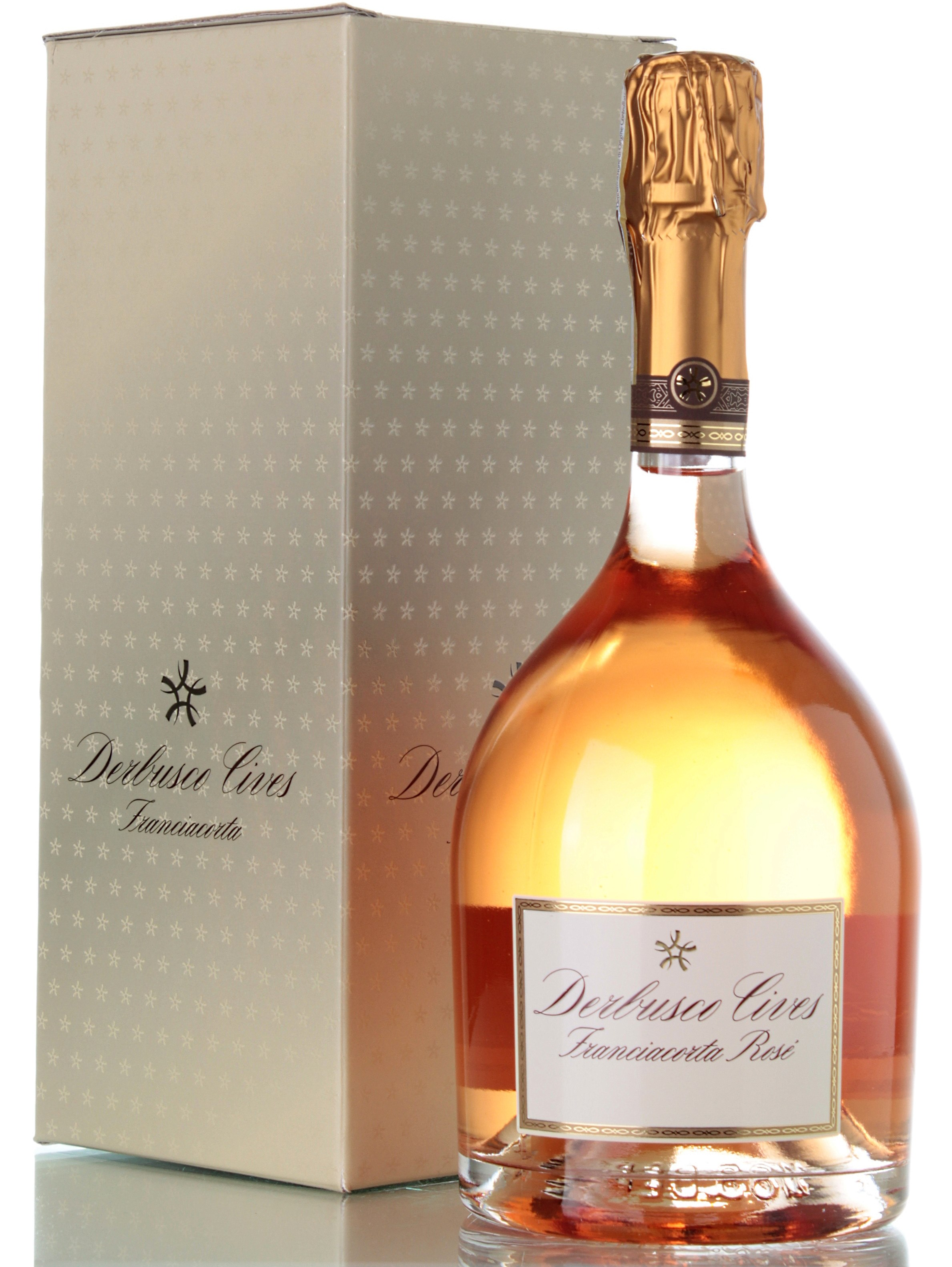 DERBUSCO CIVES FRANCIACORTA ROSE MILLESIMATO 2011 IN ASTUCCIO