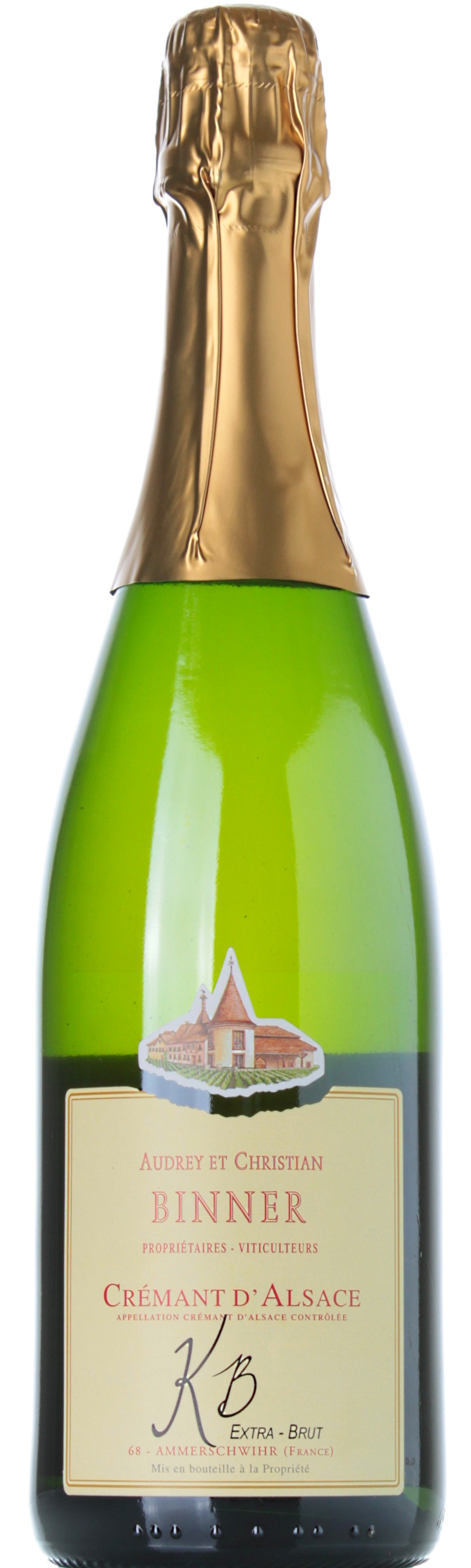 DOMAINE BINNER CREMANT DALSACE EXTRA BRUT KB 2010