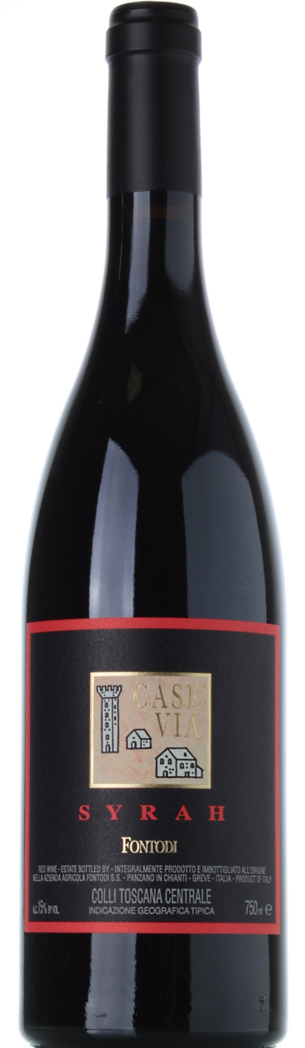 FONTODI SYRAH CASE VIA 2011