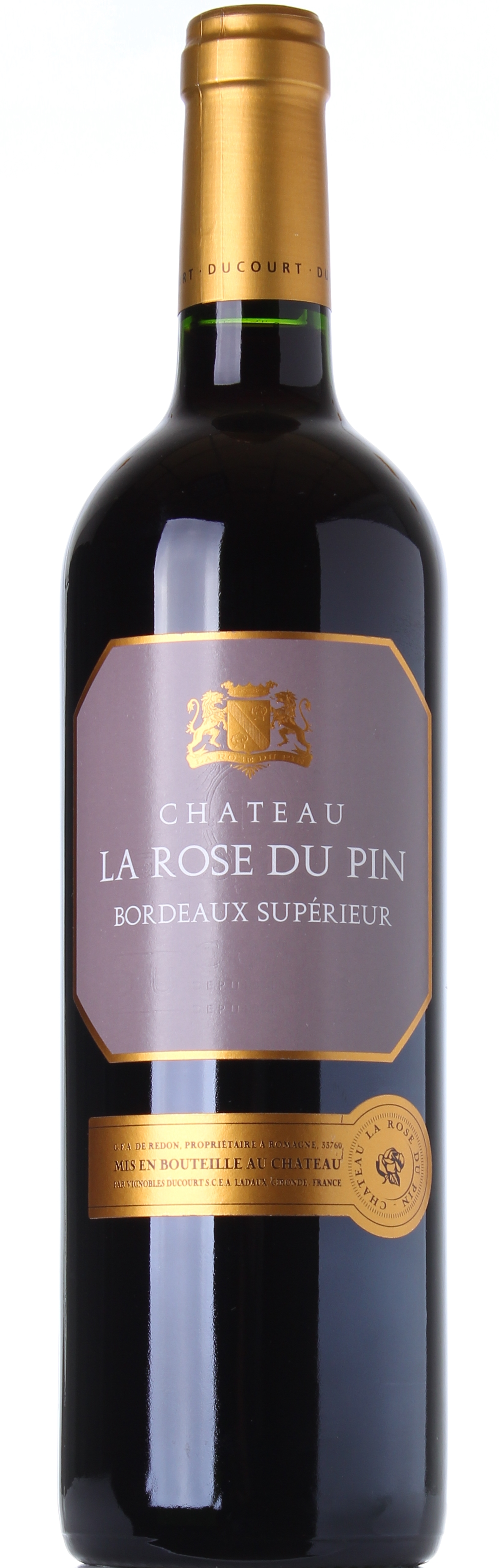DUCOURT CHATEAU LA ROSE DU PIN 2009