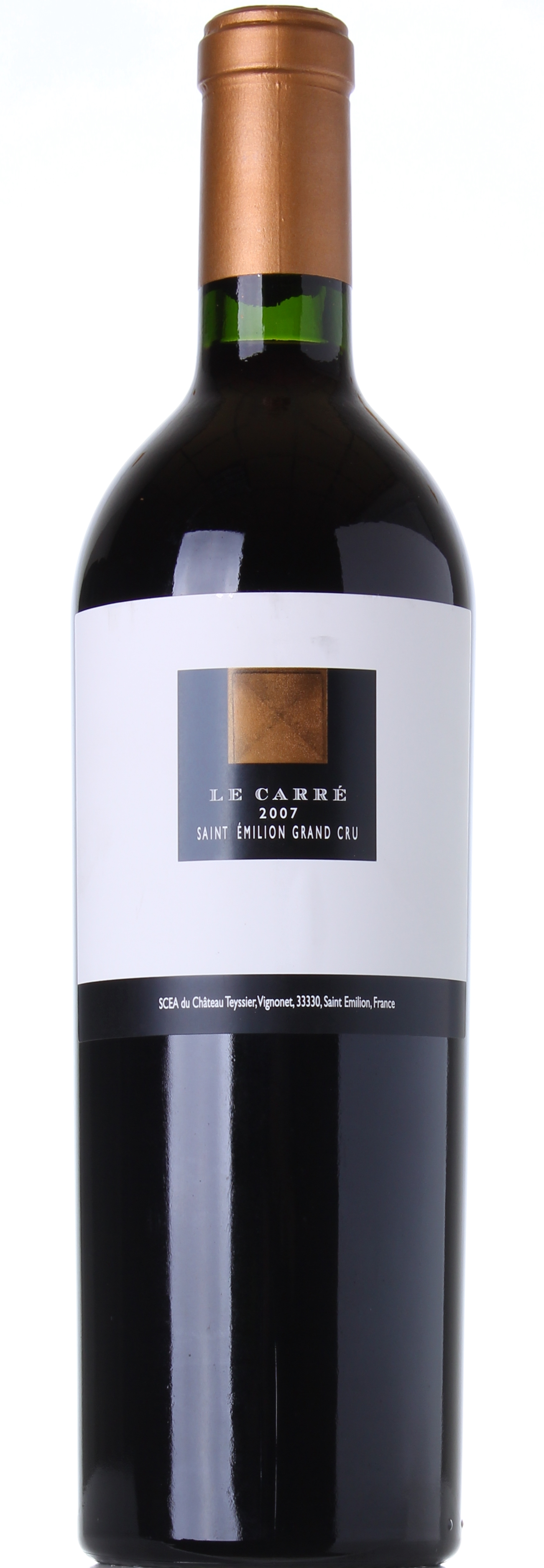 CHATEAU TEYSSIER LE CARRE' 2007