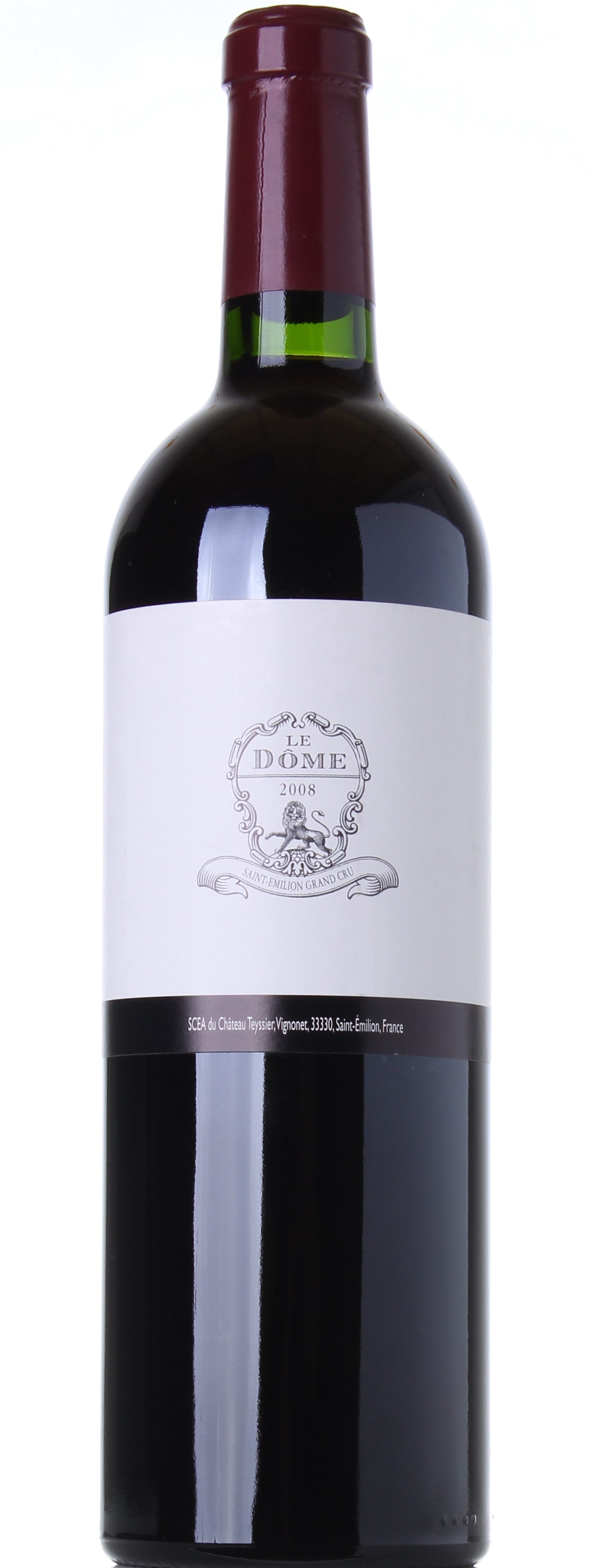 CHATEAU TEYSSIER LE DOME 2008