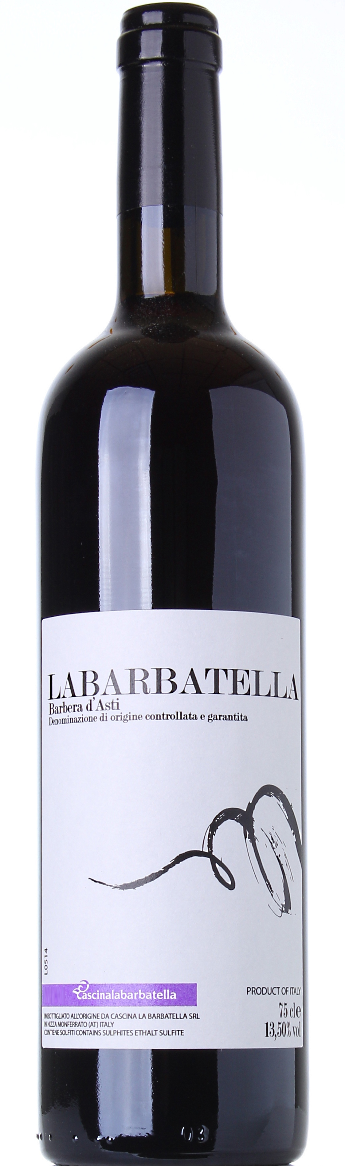 CASCINA LA BARBATELLA BARBERA D'ASTI 2012