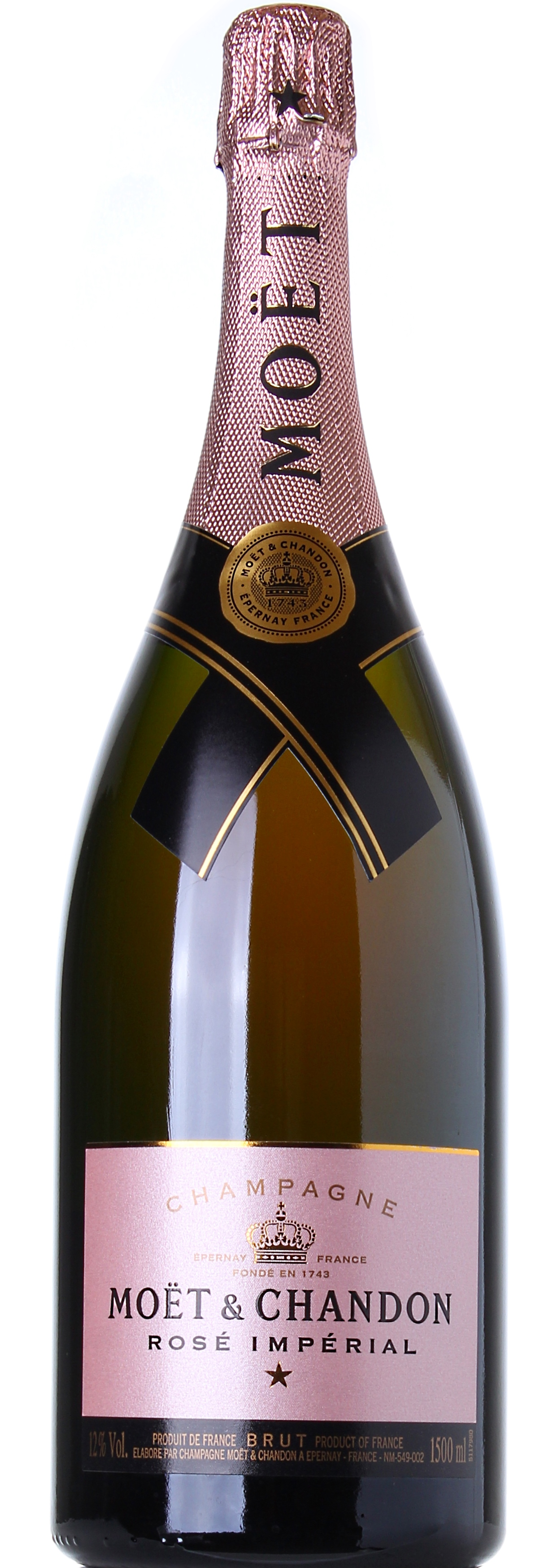 MOET & CHANDON CHAMPAGNE ROSE' IMPERIAL MAGNUM