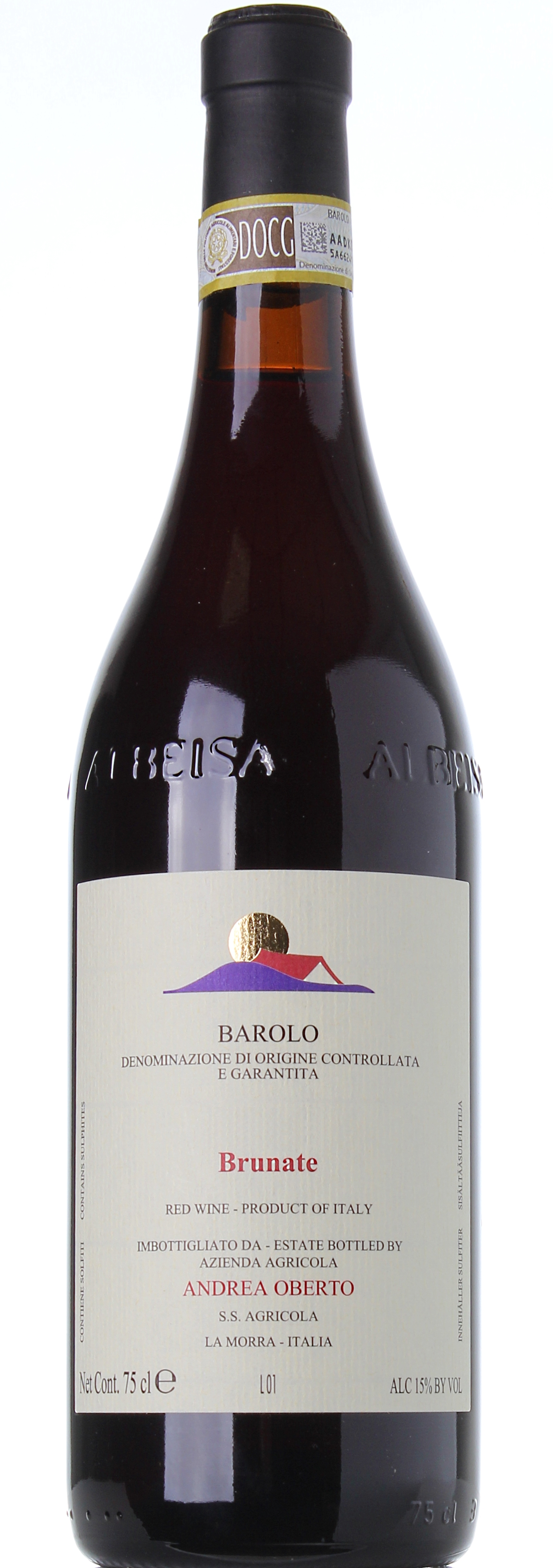 OBERTO BAROLO BRUNATE 2011